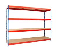 Wide Open Bays - 4 Shelves - 2135 mm Wide